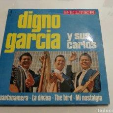 Discos de vinilo: DIGNO GARCIA Y SUS CARIOS- EP GUANTANAMERA- BELTER 1966 ESPAÑA 6. Lote 109439531