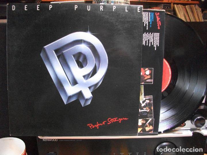 DEEP PURPLE PERFECT STRANGER LP SPAIN 1989 PDELUXE (Música - Discos - LP Vinilo - Heavy - Metal)
