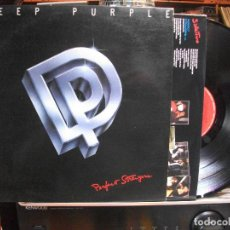 Discos de vinilo: DEEP PURPLE PERFECT STRANGER LP SPAIN 1989 PDELUXE. Lote 109440431