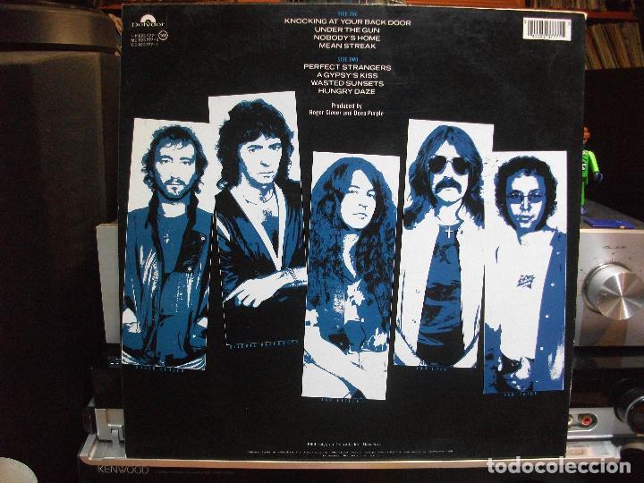 Discos de vinilo: DEEP PURPLE PERFECT STRANGER LP SPAIN 1989 PDELUXE - Foto 2 - 109440431