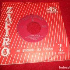 Discos de vinilo: JAVIER FLETA HOY DE RODILLAS/TU NO TIENES CORAZON 7'' SINGLE 1964 ZAFIRO. Lote 109441075