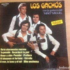 Discos de vinilo: LP LOS GACHOS CON LA GUITARRA DEL NIÑO MIGUEL . Lote 109441675