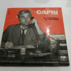 Discos de vinilo: CAPRI- EL CASAMENT/EL NAUFRAG- VERGARA 1961 ESPAÑA 6. Lote 109442554