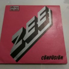 Discos de vinilo: ZEE RICHARD WRIGHT- CONFUSION/EYES OF A GYPSY- EMI PROMOCIONAL 1984 ESPAÑA 6. Lote 109445083