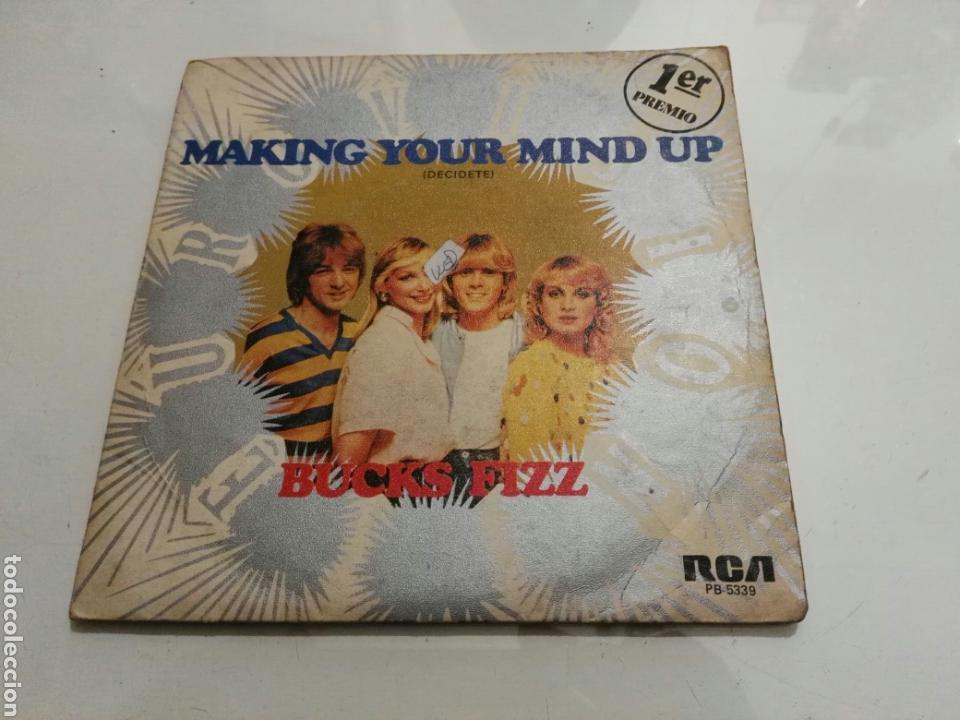 BUCKS FIZZ- MAKING YOUR MIND UP- EUROVISION- RCA 1981 ESPAÑA 6 (Música - Discos - Singles Vinilo - Festival de Eurovisión)
