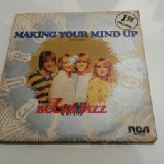 Discos de vinilo: BUCKS FIZZ- MAKING YOUR MIND UP- EUROVISION- RCA 1981 ESPAÑA 6. Lote 109449471