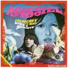 Discos de vinilo: MASSIEL– LAS ROCAS Y EL MAR / VIDA Y MUERTE - SINGLE SPAIN 1968 . Lote 109450983