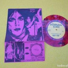 Discos de vinilo: IGGY POP –I'M THE ORIGINAL ONE-LIMITED 56/500 (EX++/EX++) STOOGES SINGLE 7 Ç. Lote 109451655