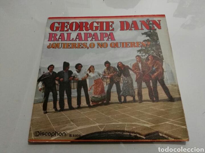 GEORGIE DANN- BALAPAPA/QUIERES, O NO QUIERES?- DISCOPHON 1970 ESPAÑA 6 (Música - Discos - Singles Vinilo - Canción Francesa e Italiana)
