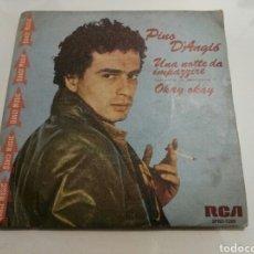 Discos de vinilo: PINO D'ANGIO- UNA NOTTE DA IMPAZZIRE/OKAY OKAY- RCA 1981 ESPAÑA 6. Lote 109452654