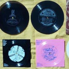 Discos de vinilo: 7 DISCOS FLEXIBLES EDICIONES PROMOCIONAL LIMITADAS MICKEY MOUSE, CARRERA, BREKKIES, VAYSAN LEVIS ETC. Lote 109455335