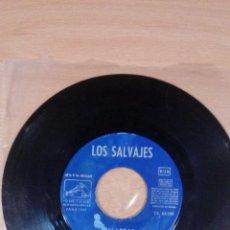 Discos de vinilo: LOS SALVAJES - PALABRAS - JUDY CON DISFRAZ - SOLO VINILO - VER FOTOS. Lote 109460931