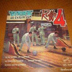 Discos de vinilo: EP : RUFFO Y SUS 4 : SI YO TUVIERA UN MARTILLO + 3. Lote 109463471