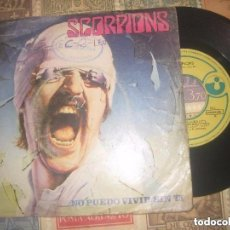 Discos de vinilo: SCORPIONS.NO PUEDO VIVIR SIN TI.( 1982.EMI-HARVEST.) OG ESPAÑA LEER DESCRIPCION. Lote 109465211