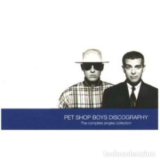 Discos de vinilo: 2 X LP-PET SHOP BOYS - DISCOGRAPHY (SYNTH POP-DISCO-HI NRG) COMPILATION--MINT***. Lote 109471439