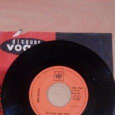 Disques de vinyle: BOB DYLAN - LA CAZA DEL PAVO - LLAMANDO A LAS PUERTAS DEL CIELO - SOLO VINILO - 1973 CBS. Lote 109473043