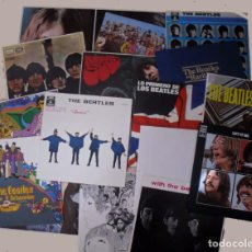 Discos de vinilo: THE BEATLES VINILOS EMI ODEON 1964 DISCOGRAFÍA. Lote 109485259