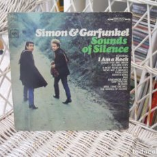 Discos de vinilo: SIMON & GARFUNKEL– SOUNDS OF SILENCE.LP ORIGINAL USA 1966.SELLO COLUMBIA 2 EYES. Lote 109489615