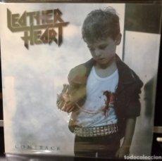 Discos de vinilo: LEATHER HEART  COMEBACK VINILO EDICION LIMITADA A 500 COPIAS (255) A ESTRENAR MURO EXCALIBUR TOLEDO. Lote 109490059