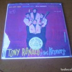 Discos de vinilo: EP : TONY RONALD Y SUS KRONER'S : HIPPY HIPPY SHAKE + 3. Lote 109492455