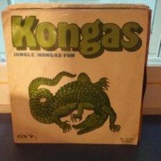 Discos de vinilo: KONGAS – JUNGLE / KONGAS FUN. Lote 109497239