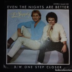 Discos de vinilo: AIR SUPPLY - EVEN THE NIGHTS ARE BETTER / ONE STEP CLOSER. Lote 109503595