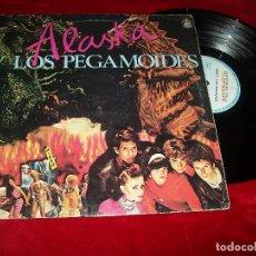 Discos de vinilo: ALASKA Y LOS PEGAMOIDES ..SU PRIMER LP EDICION ORIGINAL DE 1983 - HISPAVOX .. 11 TEMAS. Lote 112472548