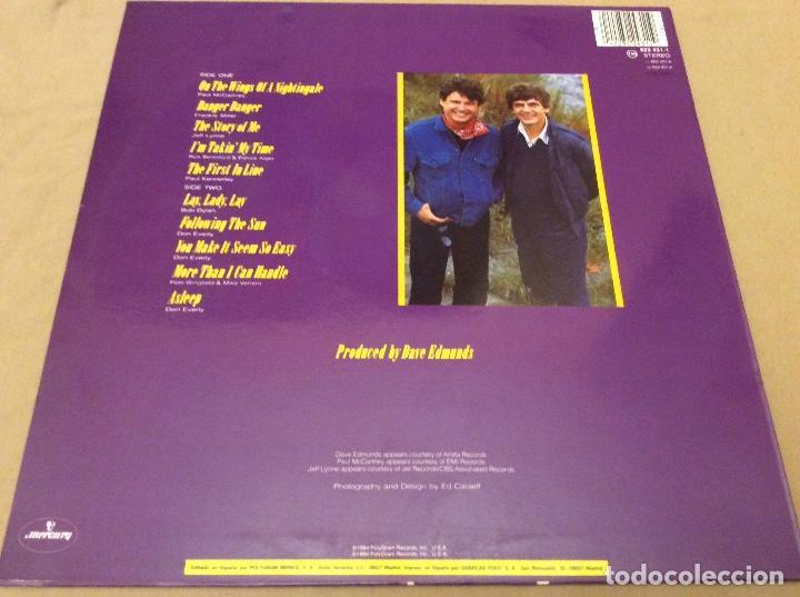 Discos de vinilo: THE EVERLY BROTHERS. MERCURY 1984. - Foto 2 - 109505791