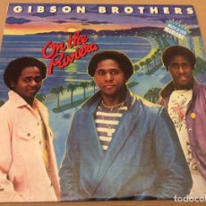Discos de vinilo: GIBSON BROTHERS. ON THE RIVIERA. CARNABY RECORDS 1980. ED ESPAÑA.. Lote 109506139