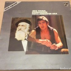 Discos de vinilo: PATXI ANDION'EN ERA JOXE MARIA IPARRAGIRRE. PHILIPS 1974. CARPETA DOBLE. CONTIENE ENCARTE. Lote 109507879