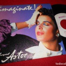 Discos de vinilo: MARGARET ASTOR IMAGINE JOHN LENNON BEATLES 7 SINGLE 1985 AUDIO PUBLICIDAD JINGLE. Lote 109524891