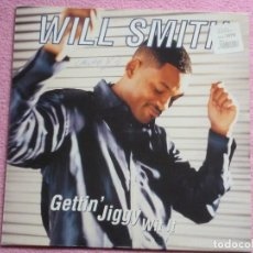 Discos de vinilo: WILL SMITH,GETTIN JIGGY WIT IT EDICION HOLANDA DEL 98. Lote 109525411