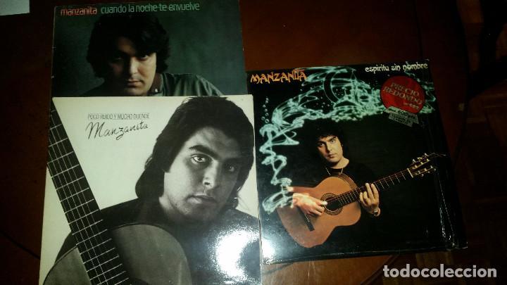 3 LP DE MANZANITA (Música - Discos de Vinilo - Maxi Singles - Solistas Españoles de los 70 a la actualidad)