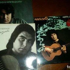 Discos de vinilo: 3 LP DE MANZANITA . Lote 109536927