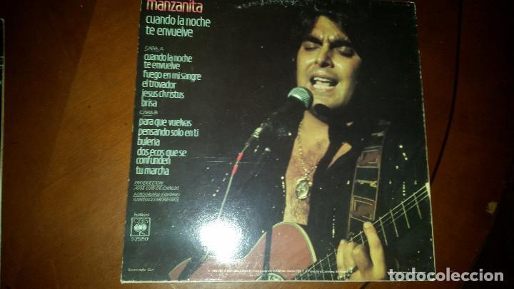 Discos de vinilo: 3 LP DE MANZANITA - Foto 5 - 109536927