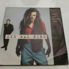 Discos de vinilo: SIX WAS NINE- WARM AND TENDER LOVE/WON'T YOU BE MY LOVER- VIRGIN 1992 GERMANY 6. Lote 109539704