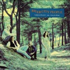Discos de vinilo: RIVER CITY PEOPLE - CARRY THE BLAME + CALIFORNIA DREAMIN SINGLE SPAIN 1990. Lote 109540051