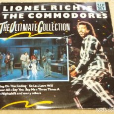 Discos de vinilo: LIONEL RICHIE / THE COMMODORES ( THE ULTIMATE COLLECTION ) TRIPLE LP33 1978 MOTOWN. Lote 109545807
