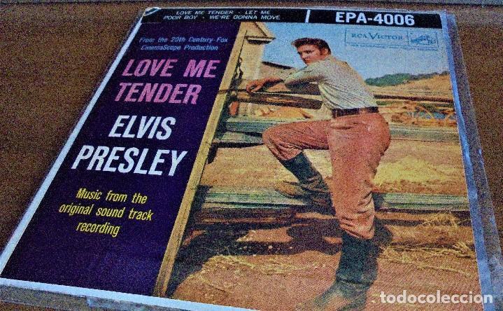 Discos de vinilo: Elvis Presley - love me tender - EPA-4006 - 1ªedición USA 1956 - Foto 2 - 109546511