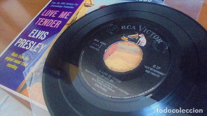 Discos de vinilo: Elvis Presley - love me tender - EPA-4006 - 1ªedición USA 1956 - Foto 5 - 109546511