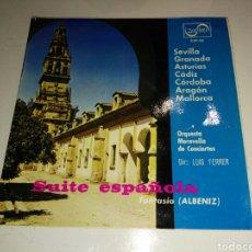 Discos de vinilo: ORQUESTA MARAVELLA LUIS FERRER- SUITE ESPAÑOLA ALBENIZ- ZAFIRO 1966 ESPAÑA 6. Lote 109548031