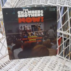 Discos de vinilo: THE CHAMBERS BROTHERS?– NOW!.LP ORIGINAL USA 1966.SELLO VAULT. Lote 109548567