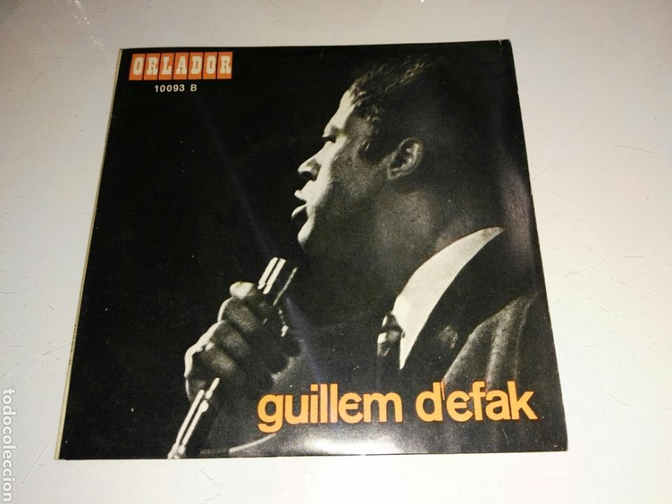 GUILLEM D'EFAK- EP ADEU, ANDREU- ORLADOR 1967 ESPAÑA 6 (Música - Discos de Vinilo - EPs - Solistas Españoles de los 50 y 60)