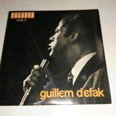 Discos de vinilo: GUILLEM D'EFAK- EP ADEU, ANDREU- ORLADOR 1967 ESPAÑA 6. Lote 109549306