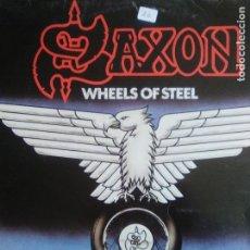 Discos de vinilo: SAXON. LP WHEELS OF STEEL. CARRERE 1980. EDICIÓN ESPAÑOLA . Lote 109550211