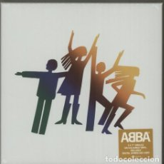 Discos de vinilo: ABBA THE ALBUM - THE SINGLES - 3 X 7 COLOURED VINYL SINGLES SINGLE VINILO BOX SET-PRECINTADO-. Lote 109550271