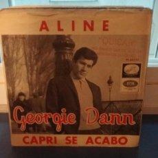 Discos de vinilo: GEORGIE DANN ?– ALINE. Lote 109556567