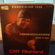 Discos de vinilo: CLIFF RICHARD ?– CONGRATULATIONS. Lote 109556999