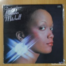 Discos de vinilo: BRENDA MITCHELL - DON´T YOU KNOW - LP. Lote 109566995