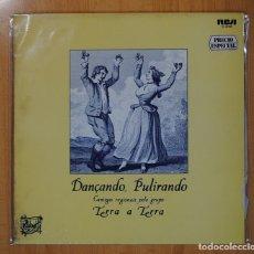Discos de vinilo: TERRA A TERRA - DANCANDO, PULITANDO - LP. Lote 109571948